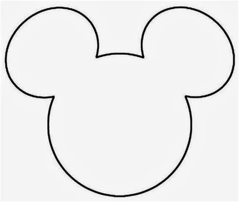 Mickey Mouse Template Mickey Mouse Templates Oh My In