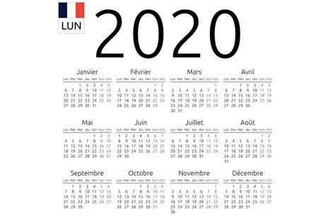 calendar french monday stationery templates creative market