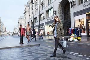 Shopping In London Oxford Street