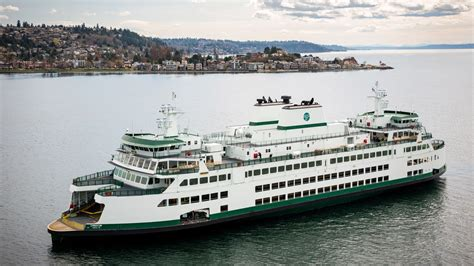 washington state ferries welcomes  vessel chimacum curbed seattle