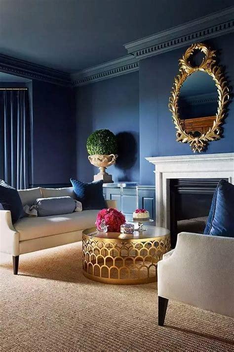amazing blue living room designs  striking interior