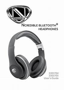 Ncredible1 Wireless Headphones User Guide  U0026 Manual