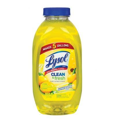 Lysol Lemon & Sunflower Multi-Surface Antibacterial