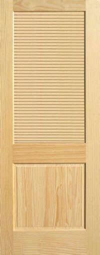louvered interior doors pine half louvered wood interior doors homestead doors