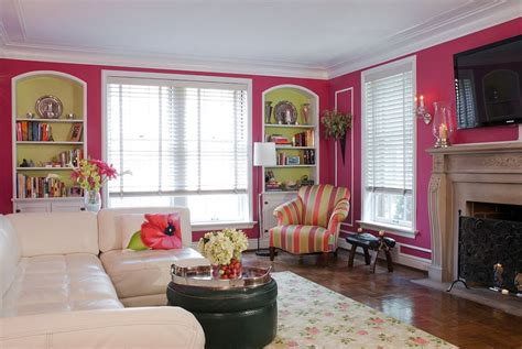Pink Living Room Interior Design Furniture Decor Ideas by 20 And Cheerful Pink Living Rooms