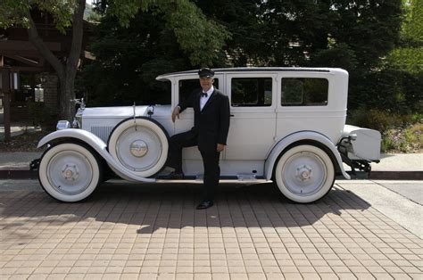 Classic Limo Rental by Dan The Chauffeur With 1927 Packard From Classic Limos