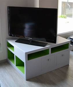 Meuble Angle TV Meubles En Carton Angers