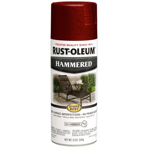 Lowe Boats Touch Up Paint by Shop Rust Oleum Stops Rust Bright Hammered Spray Paint