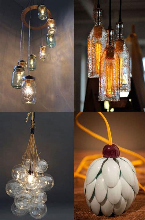 luminarias recicladas  voce se inspirar comprando