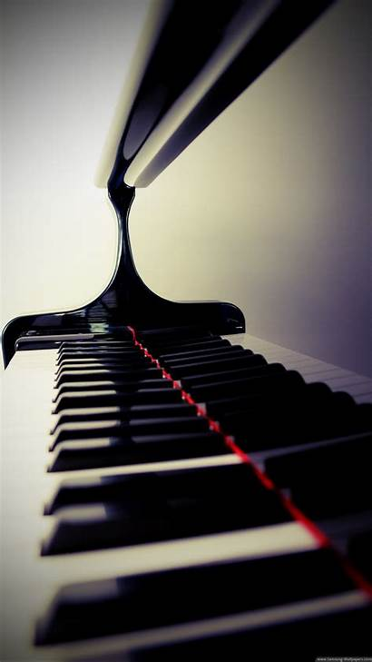 Piano Iphone Keys Closeup Wallpapers Iphonewalls 8k
