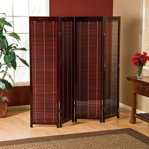 Tranquility Wooden Shutter Room Divider  Room Dividers At