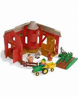 Big red barn toys