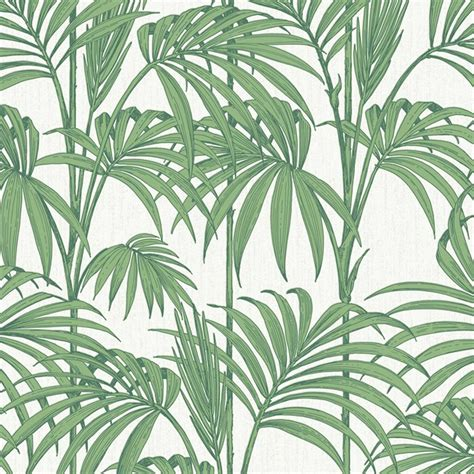 mid century modern curtains graham brown palm tree pattern leaf glitter motif