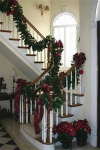 1000 images about Christmas Staircase Decor on Pinterest