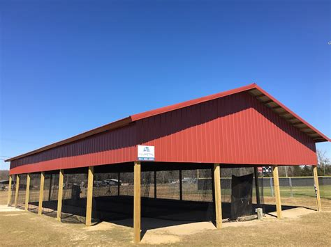 metal pole barns pole barns by all metal building systems