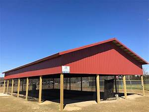 pole barns by all metal building systems With alabama steel pole barns