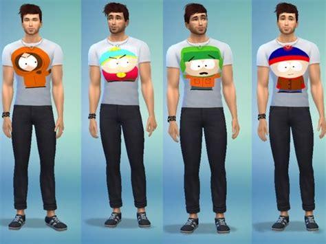 south park  shirt   sims   miei cc   sims