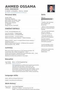 Site engineer resume samples visualcv resume samples for Civil engineer resume