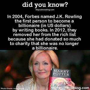 11 Must-Read Facts about J.K. Rowling