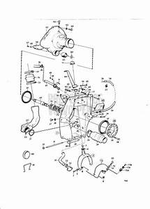 Volvo Penta Exploded View    Schematic Connecting Components Aq Drive Unit 270  275a Aq125b