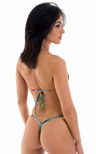 Womens Swimsuit G String Swimwear Seamless Front