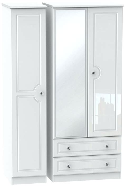Wardrobe With Drawers And Mirror by 15 The Best White Wardrobes With Drawers And Mirror