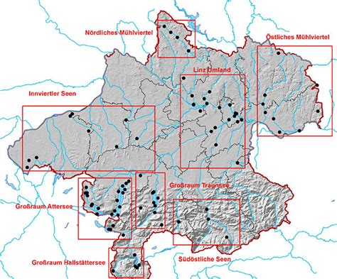 Seen österreich Karte
