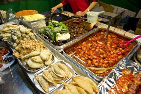 top  streets  korean food