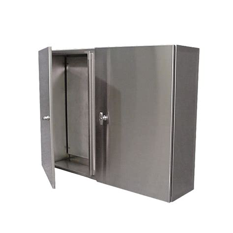 double door steel cabinet stainless steel control cabinet wall mount double door