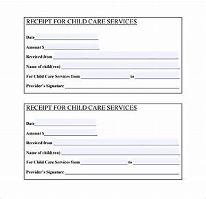 daycare receipt template 19 free sample example With child care provider online invoice