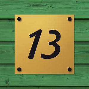 Plaque Numero Maison : plaques professionnelles et plaque de maison aluminium or votre plaque personnalis e en ~ Teatrodelosmanantiales.com Idées de Décoration