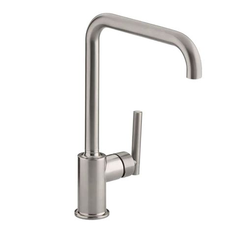 kohler purist kitchen faucet with side spray kohler clairette faucet spray assembly in vibrant