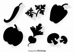 Vegetable Black Icons - Download Free Vectors, Clipart ...