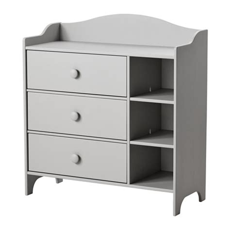 Ikea Nyvoll Dresser Grey by Trogen Chest Of Drawers Light Grey 100x108 Cm Ikea
