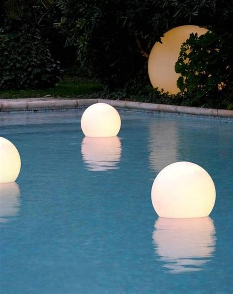 17 best ideas about floating pool lights on