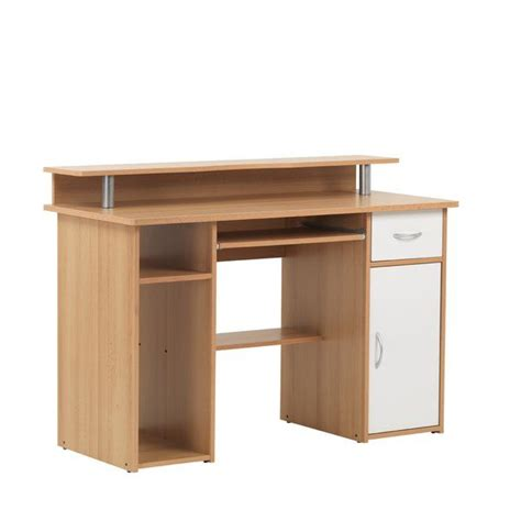 Best of all, this computer desk requires very little assembly. Maxam Computer Desk in 2020 | Desk, Very small bedroom ...