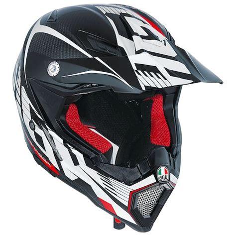 agv motocross helmets agv ax 8 evo carbotech helmet revzilla
