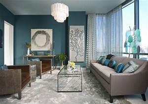 Salon Gris Bleu : un salon taupe une couleur toujours tendance ~ Melissatoandfro.com Idées de Décoration