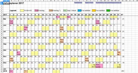 jaar planner excel
