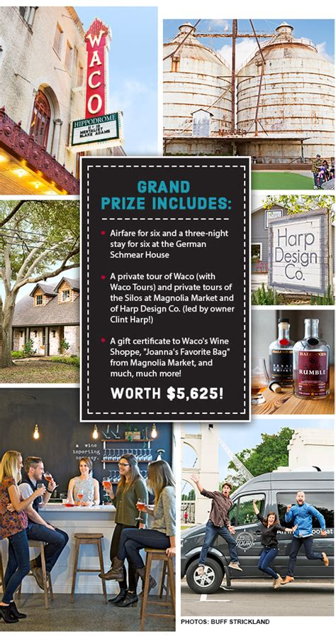 country living sweepstakes country living waco trip sweepstakes
