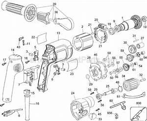 Dewalt Dw245 Parts List And Diagram