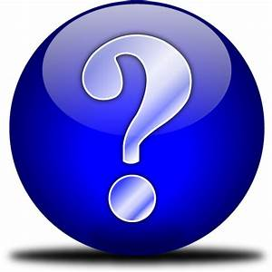The gallery for --> Question Mark Icon No Background