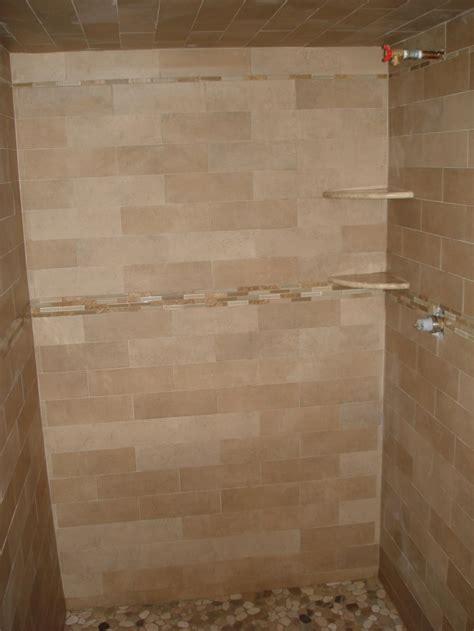 bathroom subway tile marble subway tile shower white