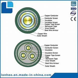 China Copper Xlpe Insulated Pvc Sheathed Steel Wire