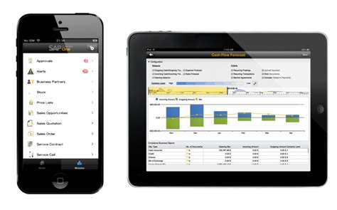 sap business  mobile app  iphone  ipad abaco