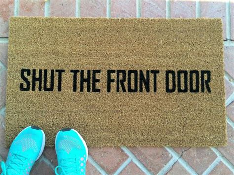 Humorous Doormats by 25 Best Ideas About Doormats On