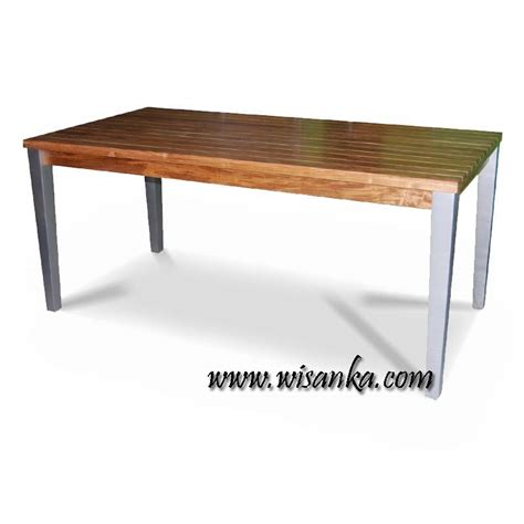 phoenix rect table indonesia garden teak outdoor furniture