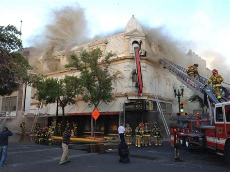 Fire Destroys Historic Downtown El Paso Building | KRWG