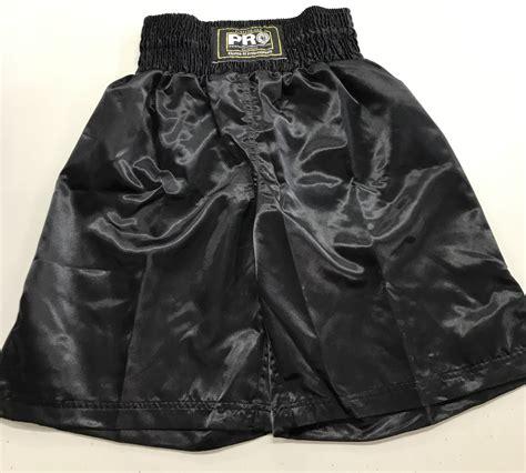 pbss pro boxing shorts satin