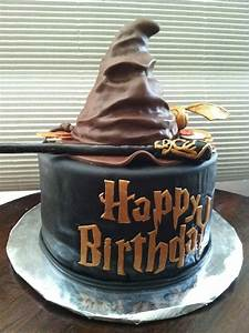 Harry Potter Sorting Hat Birthday Cake - CakeCentral com